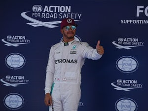 Champion Hamilton caught cold after title win