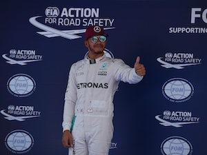 Hamilton tops standings in third practice
