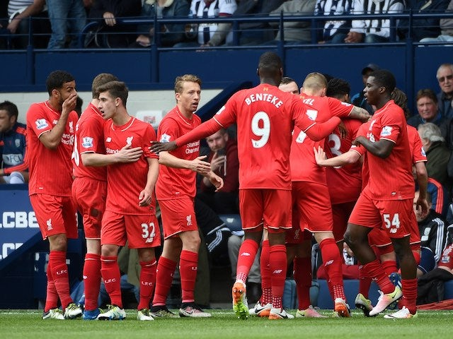 Result: Liverpool finish eighth following West Bromwich