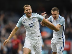 Team News: Vardy on bench as Kane leads England line