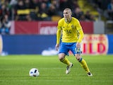 Victor Lindelof during the international friendly between Sweden and Czech Republic at Friends Arena on March 29, 2016