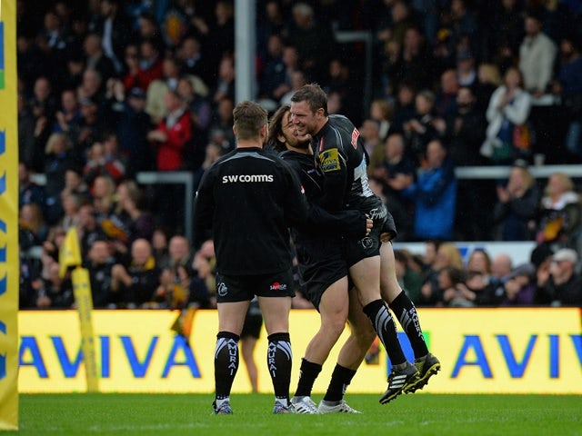 Result: Exeter Chiefs through to first Premiership final