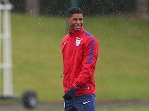 Team News: Rashford starts for England