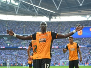 Diame fires Hull City back into Premier League