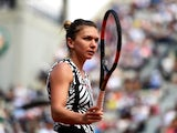 Simona Halep in action at the French Open on May 27, 2016