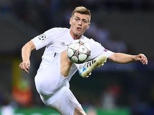 Zidane lavishes praise on Kroos