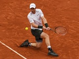 Andy Murray in action against Novak Djokovic in the French Open final on June 5, 2016
