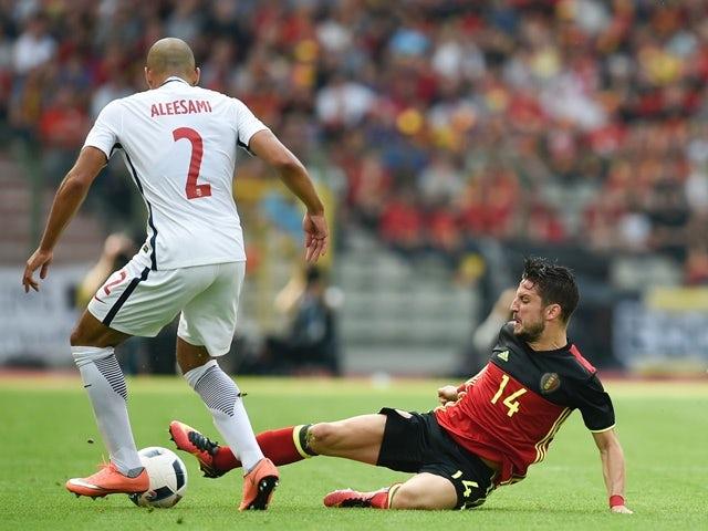 Norway's Haitam Aleesami vies with Belgium's Dries Mertens during the international friendly on June 5, 2016