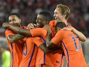 Austria slump to Netherlands defeat