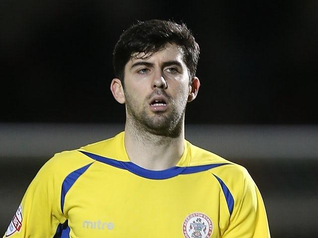 Piero Mingoia of Accrington Stanley in action against Northampton Town on December 28, 2015