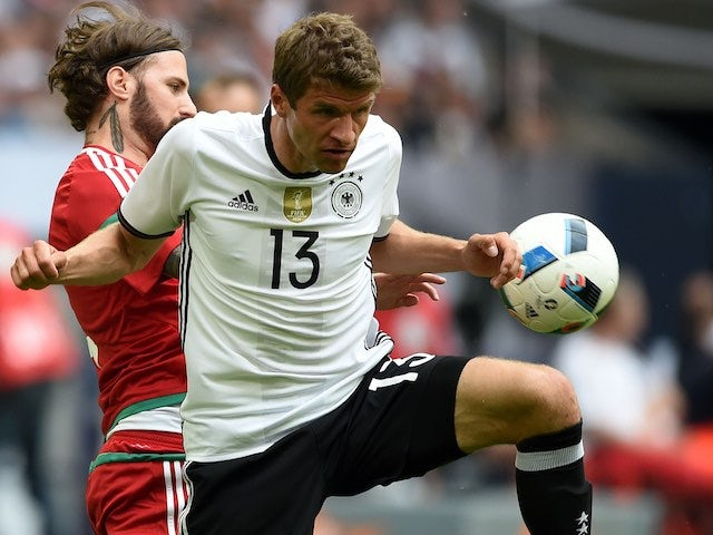 Result: Muller nets twice in Germany win over Norway