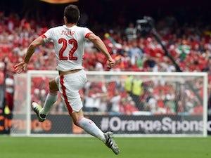 Early Schar goal earns Switzerland three points