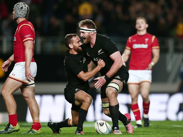 Result: New Zealand fight back to see off Wales