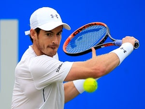 Andy Murray returns to practice courts