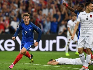 France leave it late to beat Albania