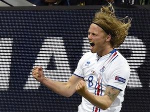 Villa close in on Iceland international