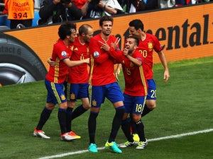 Team News: No changes for Spain ahead of Turkey clash