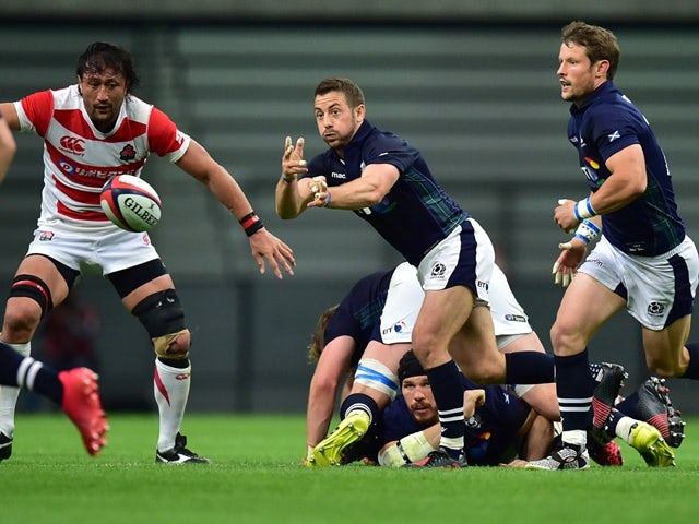 Result: Sean Maitland scores only try as Scotland end autumn by beating Argentina