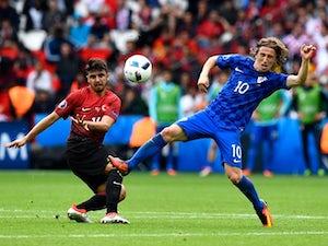 Modric volley helps Croatia beat Turkey