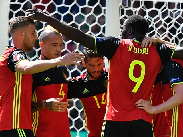 Romelu Lukaku Dominates Defender Before Scoring for Belgium