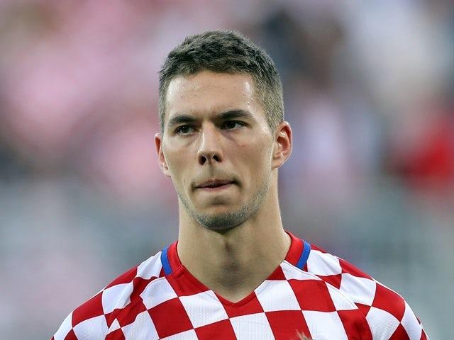 Marko Pjaca is pictured before before the friendly football match between Croatia and San Marino in Rijeka, Croatia, on June 4, 2016