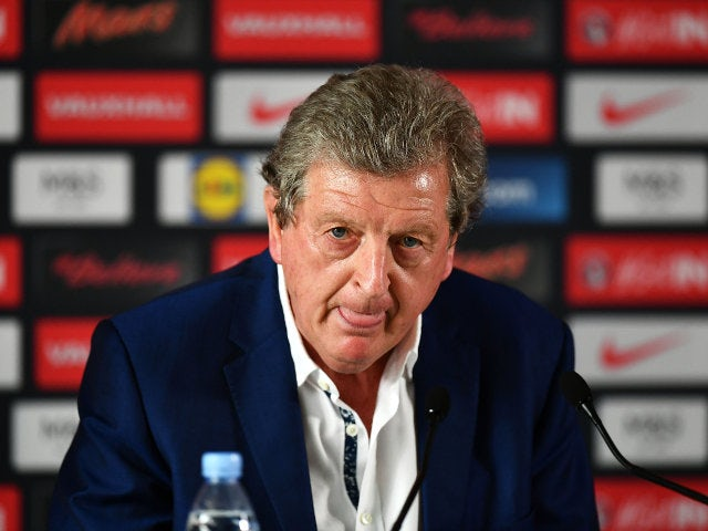 Roy Hodgson speaks during a press conference on June 28, 2016 in Chantilly, France