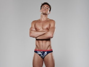 Tom Daley wearing the Team GB kit for Rio 2016