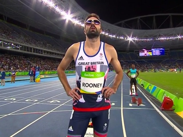 Martyn Rooney in action for Team GB on August 12, 2016