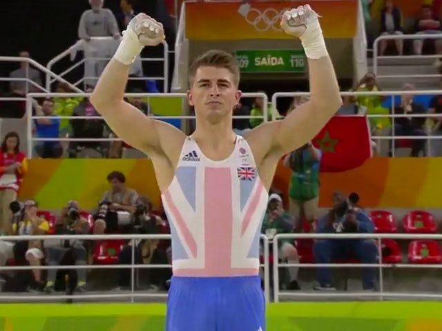 Max Whitlock in action for Team GB at the Rio Olympics on August 10, 2016