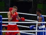 Pat McCormack in action at the Rio Olympics on August 14, 2016