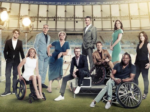 Channel 4's Paralympics presenter team
