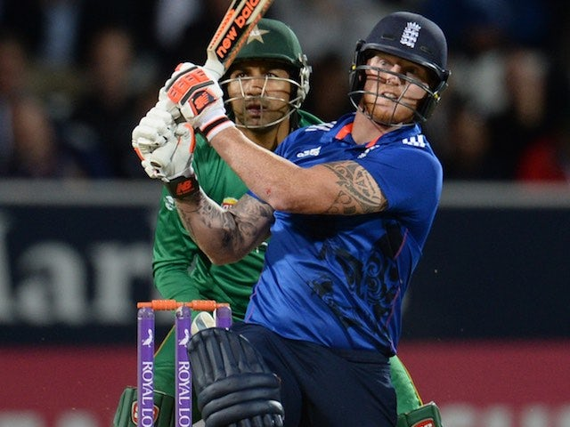Ben Stokes in action during the fourth ODI between England and Pakistan on September 1, 2016