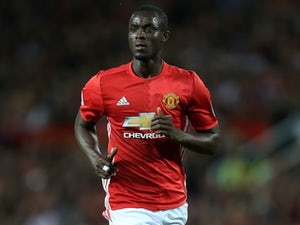 Eric Bailly in action for Manchester United on August 15, 2016