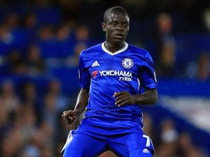 N'Golo Kante in action for Chelsea on August 15, 2016