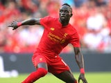 Sadio Mane in action for Liverpool on August 6, 2016