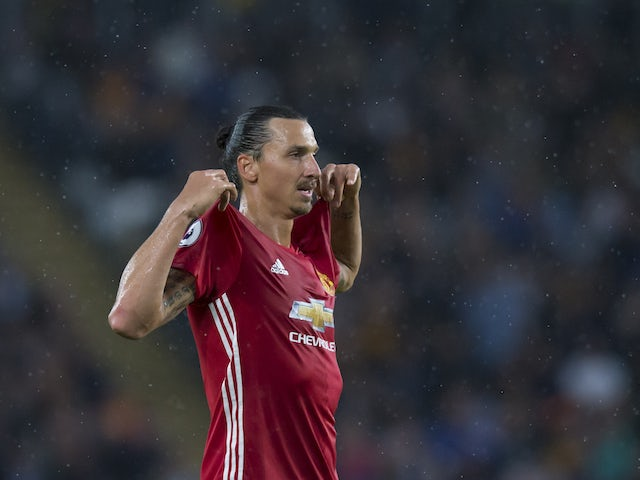 Result: Zlatan Ibrahimovic nets as Man United win