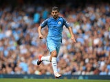 Nolito in action for Manchester City on August 28, 2016