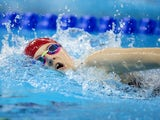 ParalympicsGB swimmer Abby Kane in action during the women's 400m freestyle S13 final in Rio de Janeiro on September 12, 2016