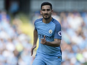 Gundogan out for days with knee sprain