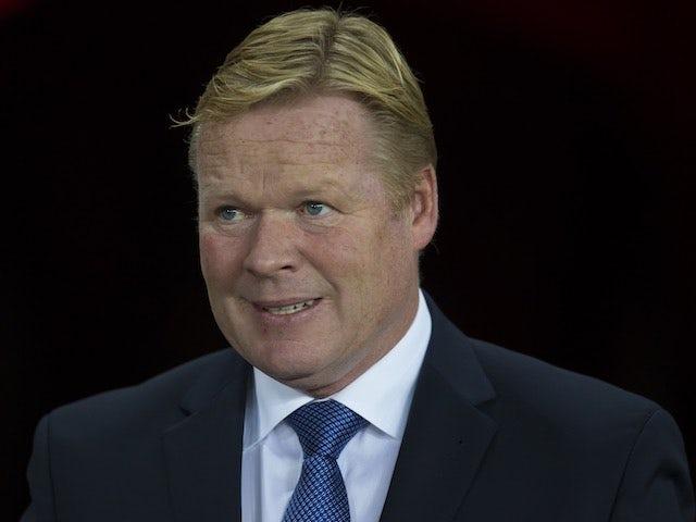Everton manager Ronald Koeman on September 10, 2016