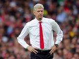 Arsene Wenger strikes a pose on September 24, 2016