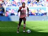 Southampton defender Cuco Martina in action during his side's Premier League clash with Leicester at the King Power Stadium on October 2, 2016