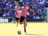 Southampton playmaker Dusan Tadic in action during his side's Premier League match against Leicester City at the King Power Stadium on October 2, 2016
