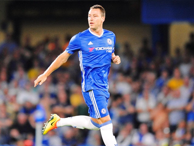 Chelsea's John Terry during the EFL Cup match between Chelsea and Bristol Rovers at Stamford Bridge on August 23, 2016