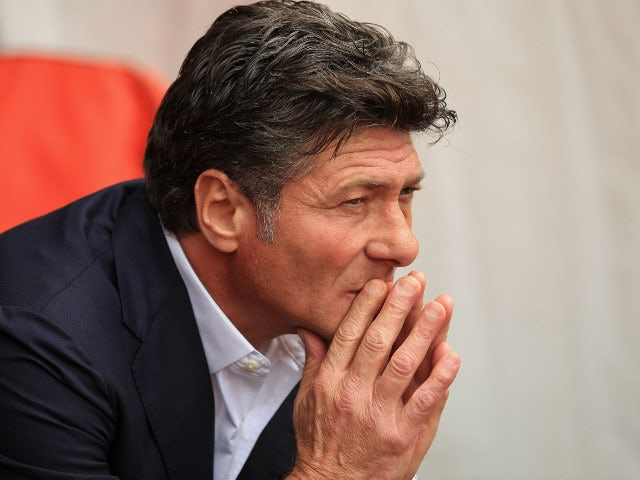 Walter Mazzarri manager of Watford during the Premier League match between Southampton and Watford at St Mary's Stadium on August 13, 2016