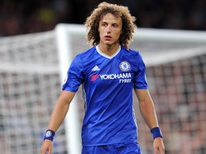 David Luiz in action for Chelsea on September 16, 2016