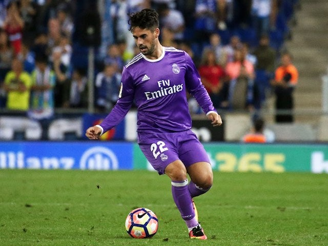 Result: Isco nets brace in Real Madrid rout