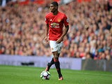 Manchester United striker Marcus Rashford in action for his side during their Premier League clash with Leicester City at Old Trafford on September 24, 2016