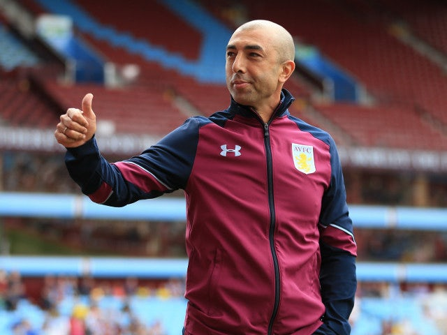 Aston Villa manager Roberto Di Matteo before his side's pre-season friendly with Middlesbrough on July 30, 2016