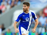 Ched Evans in action for Chesterfield on August 16, 2016
